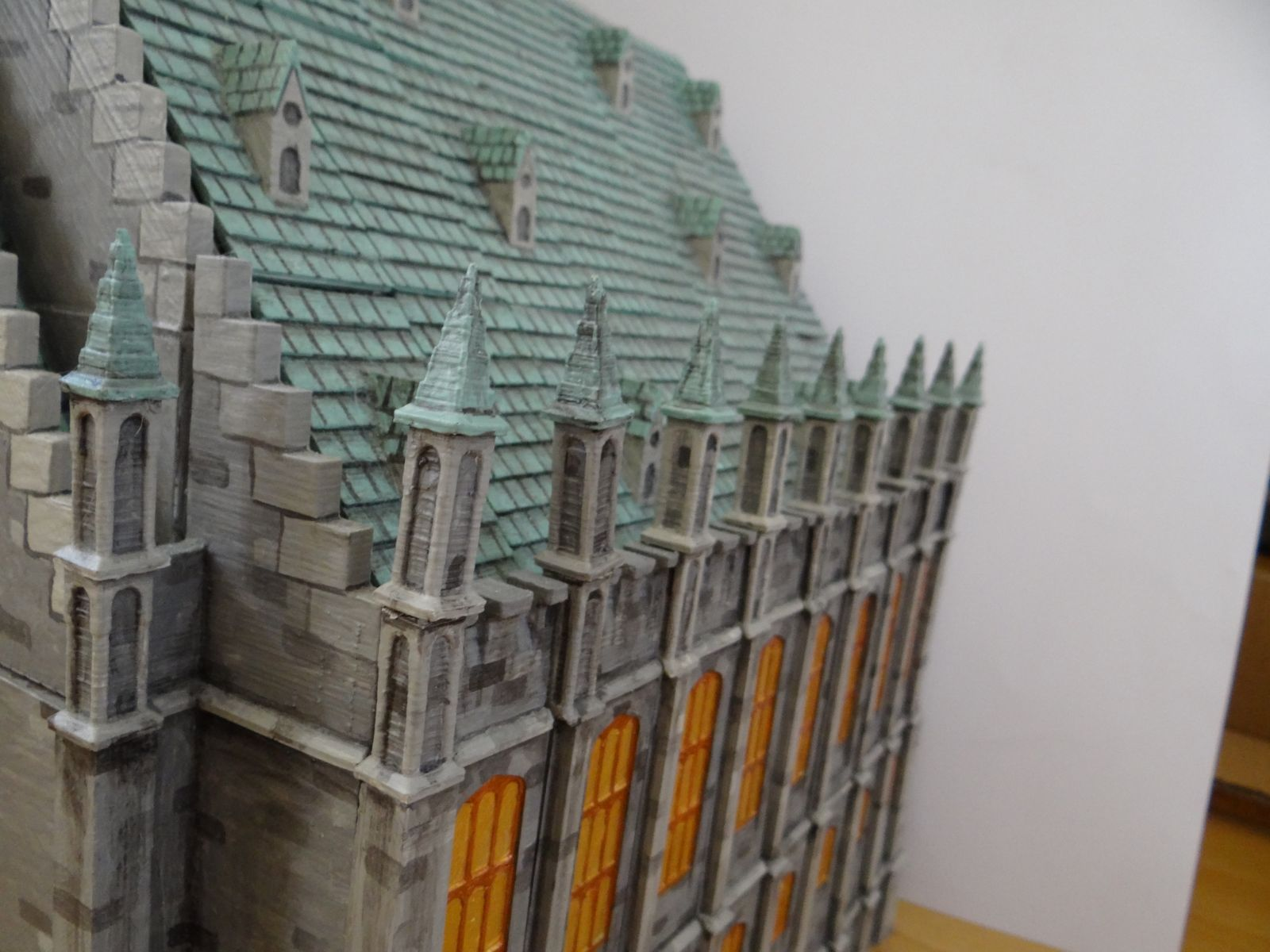 Hogwarts close-up