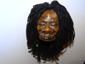 shrunken head finished