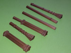 Pieces of the Harak wand