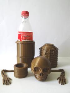 pieces of Skele-Gro with the bottle