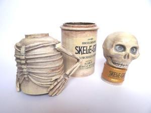 finished pieces of the Skele-Gro